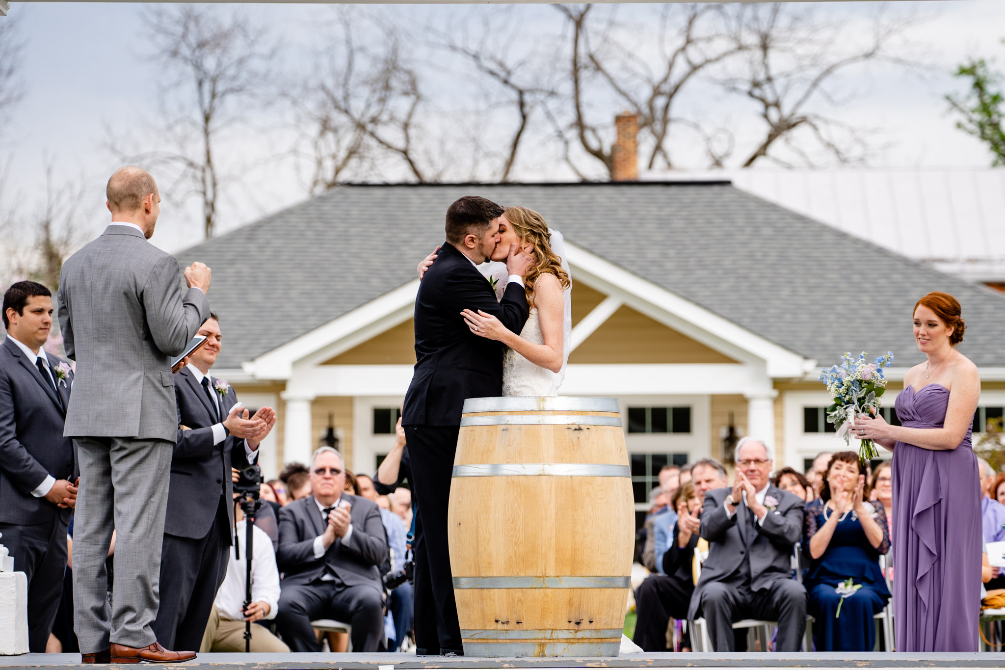 Springfield Manor Winery and Distillery Thornton MD Spring Wedding Photography by Bee Two Sweet-11.jpg