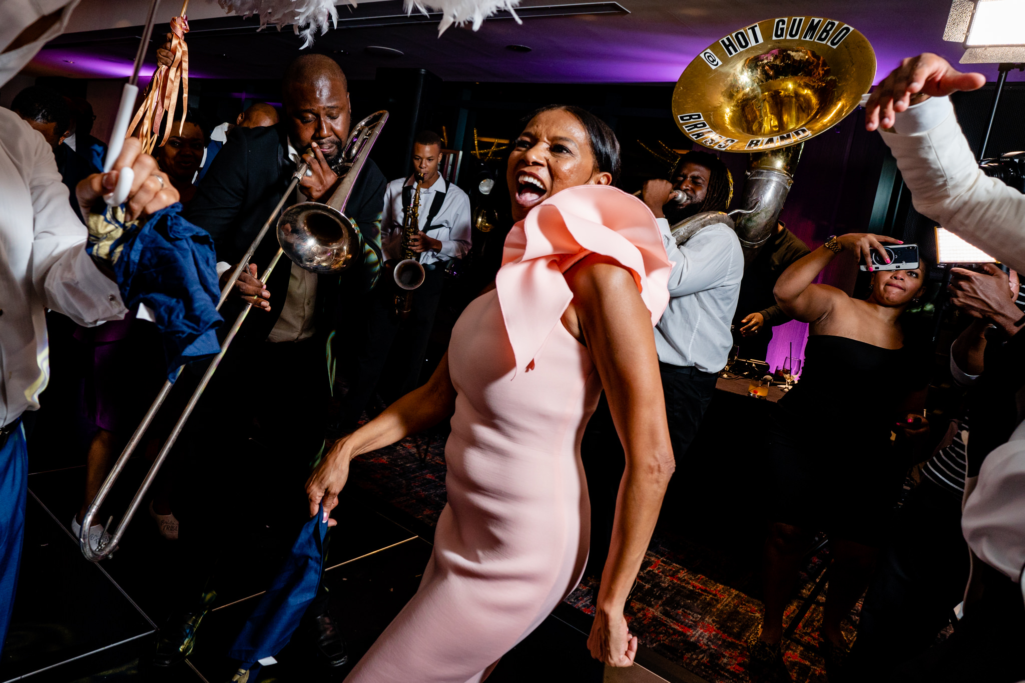 New Orleans Wedding Second Line Band University of Maryland UMD-25.jpg