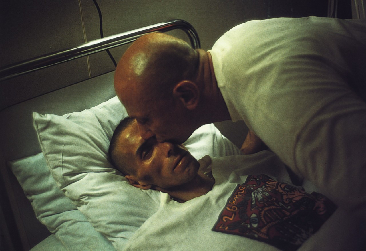 "7. ""Gotscho kissing Gilles"" - Nan Goldin - Corresponding song - Goodbye Song"