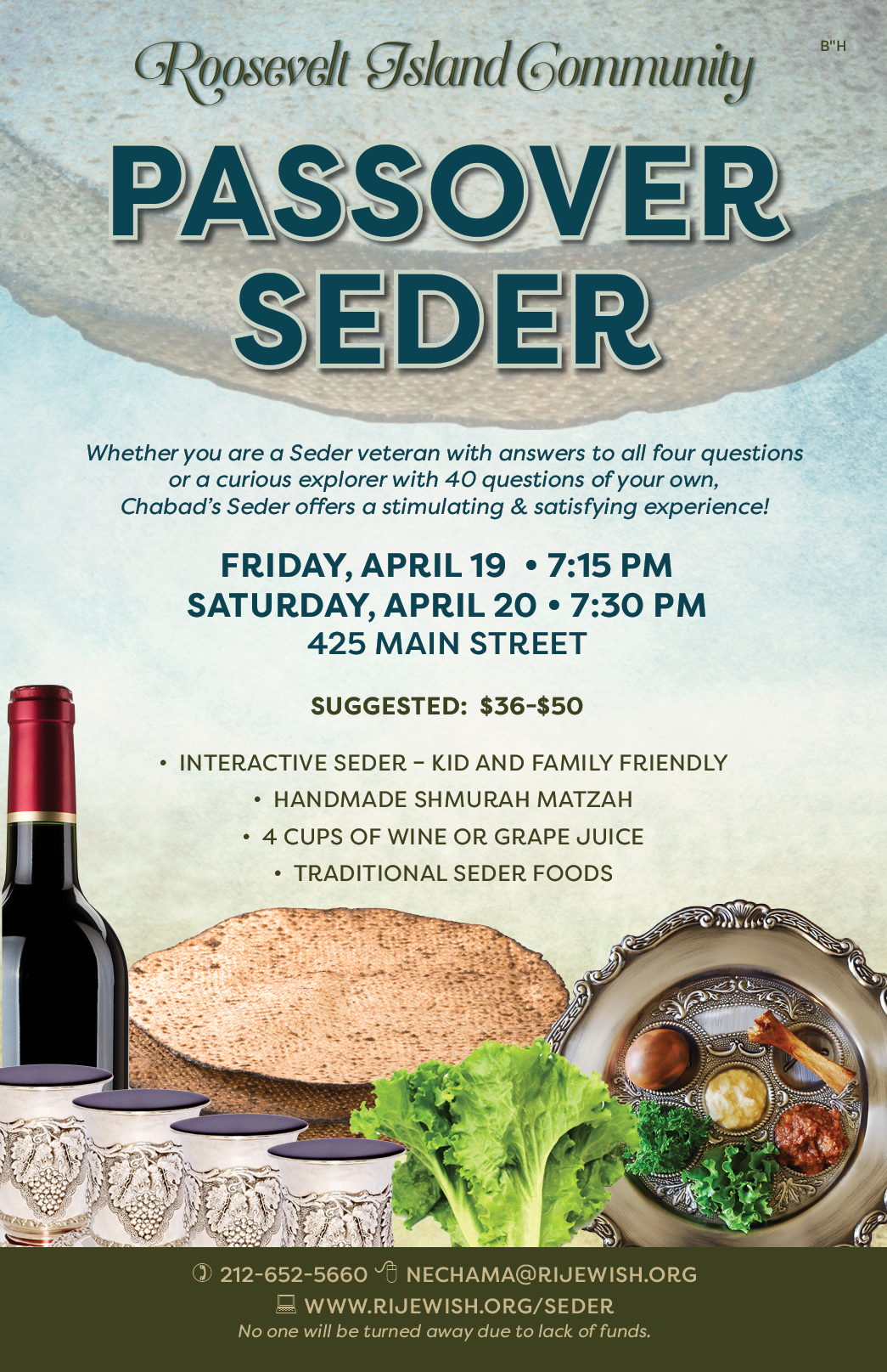 Pesach Page 2019 — Chabad of Roosevelt Island