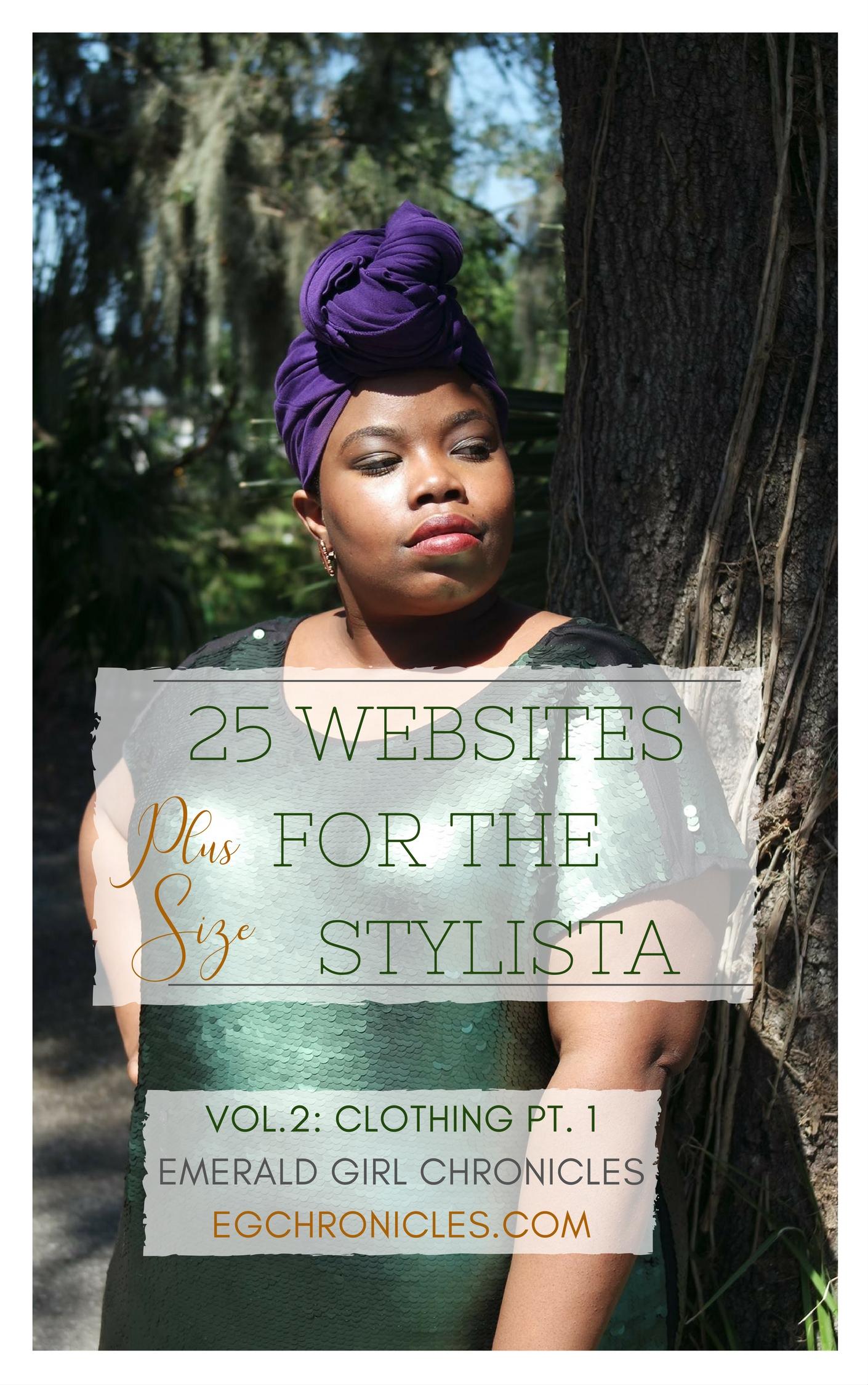 25 Plus Size Websites Vol.2 : Clothing Pt.1