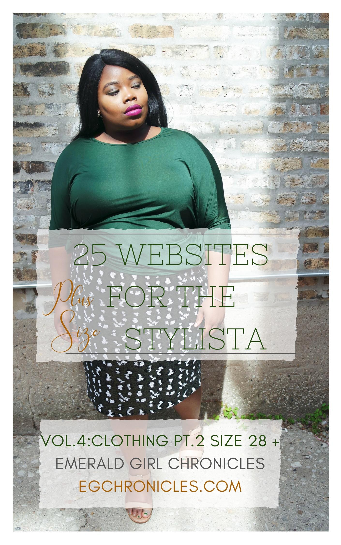 25 Plus Size Websites Vol.4 : Size 28+