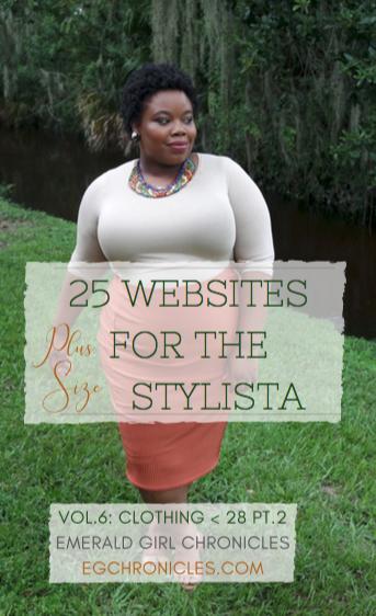25 Plus Size Websites Vol.6: Size 28+ Pt.2