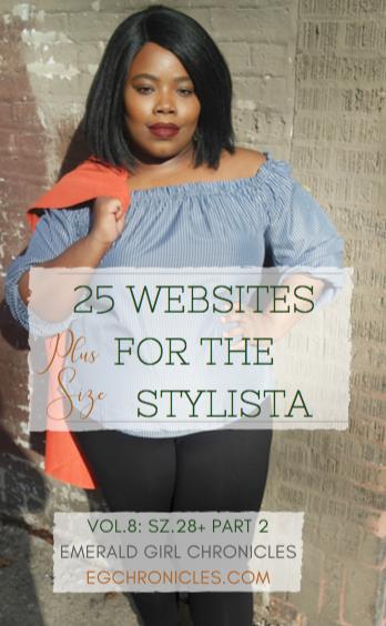 25 Plus Size Websites Vol.8 : Sz. 28 Pt.2