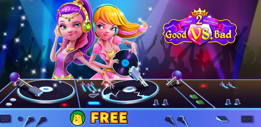 Magic Descendants Good Vs. Bad 2  Come and join in the most fabulous GENIE chic LASER PARTY makeover girls!What's up guys, the fantasy magic school is hosting the best party ever this summer!