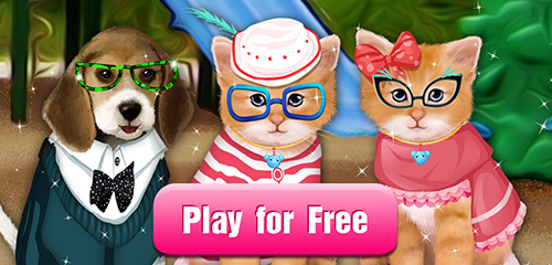 Little Pet Salon  So many cute and fluffy animals to take care of!Your furry little friends are waiting for you to take care of them! Puppies! Kittens! Bunnies!