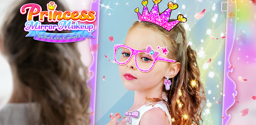 Princess Mirror Selfie Camera  Now give yourself a virtual makeup on your phone or tablet with the new Princess Mirror Makeup app from Bear Hug!