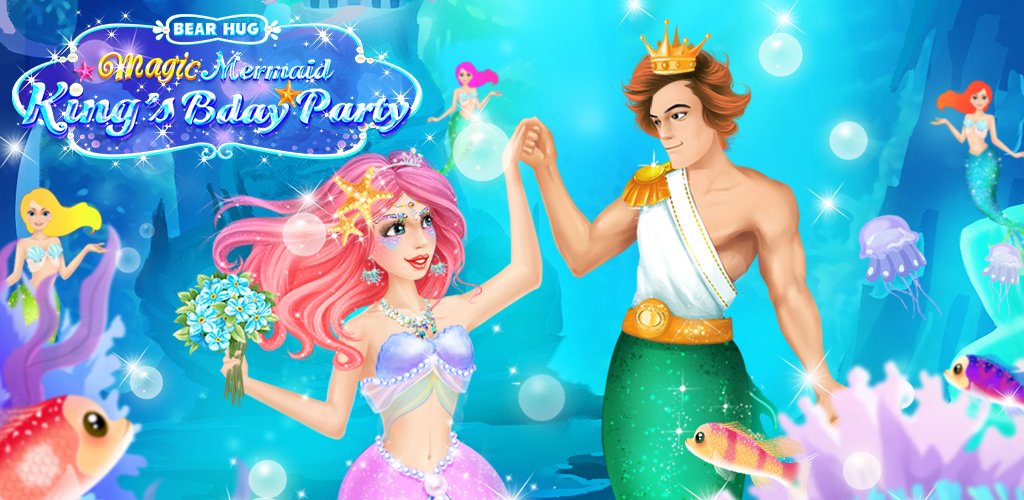 Magic Mermaid Salon  Tonight the young mermaid girls all around the kingdom are invited to attend the mermaid king's birthday prom!