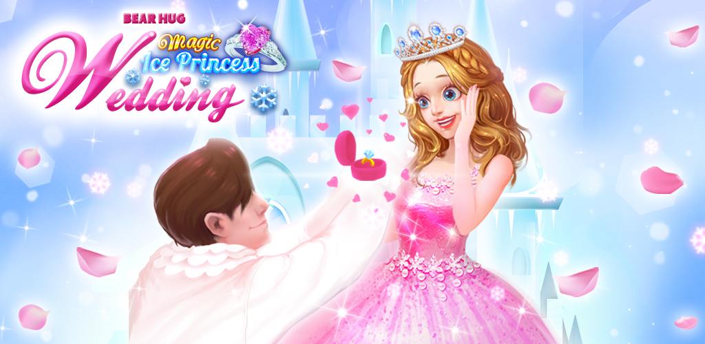 Magic Ice Princess Wedding  Have you ever dreamt a perfect look for your wedding day? Yeah, you certainly have, and the ice princess feels the same way!