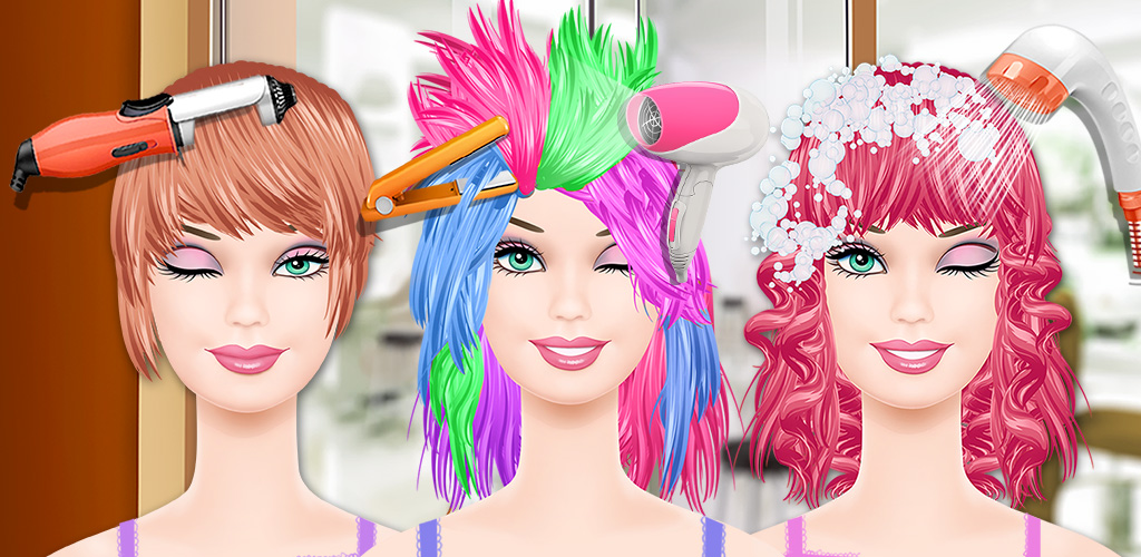 Fashion Doll Hair SPA  Which of these girls is ready for a complete beauty makeover, complete with new fashions, a hot hairstyle, and the most amazing dresses in the world?