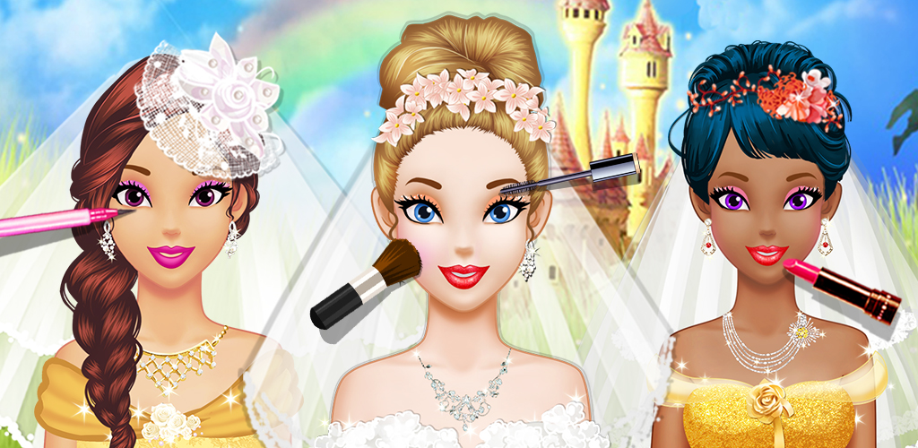 """Wedding Salon  Long Hair Princess Juliet said """"YES!"""" Her big day is coming up and she can't wait to celebrate with you! She believed you are the best wedding planner!"""