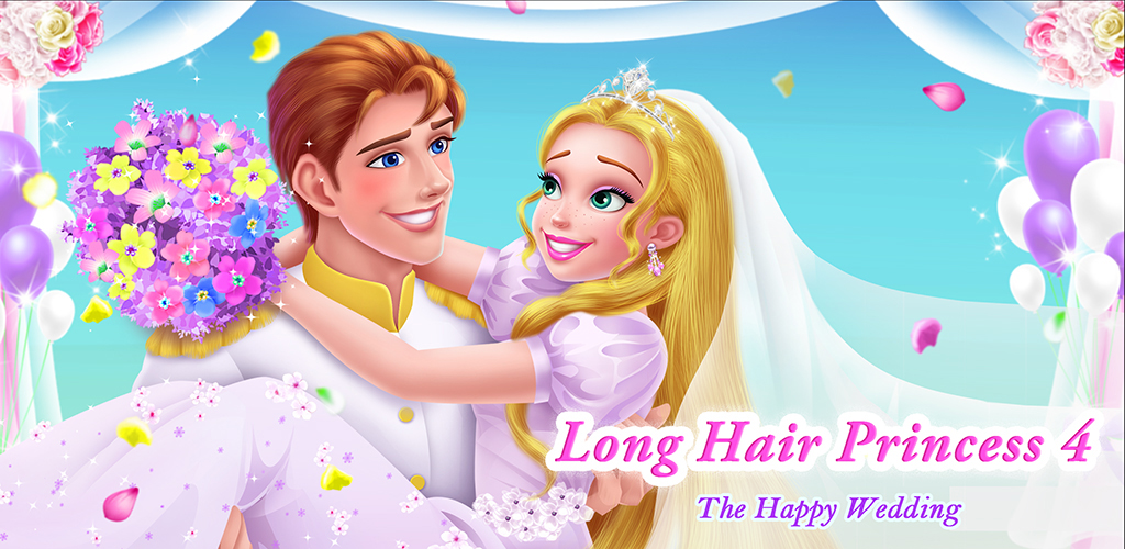 Long Hair Princess 4 - Happy Wedding  Princess reproached herself for letting the country into trouble. The prince Eukin stayed by the princess' side to help the kingdom get rid of this nightmare.