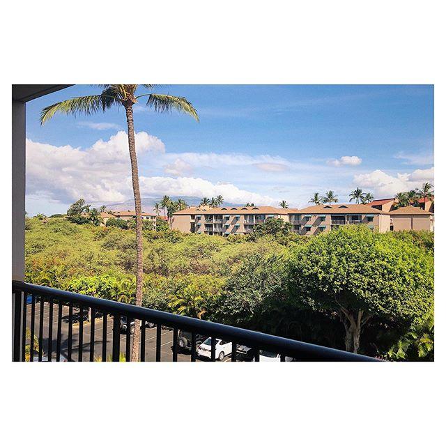 Good Morning, Maui. #maui #hawaii #vacationatlast #vacation #windowview #igers
