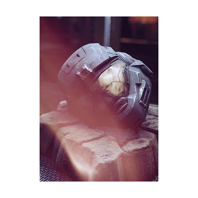 """""""Spartans Never Die."""" @halo  #anaheim #halooutpost #halooutpostdiscovery #halo #spartan #fallenheroes #battleforreach"""
