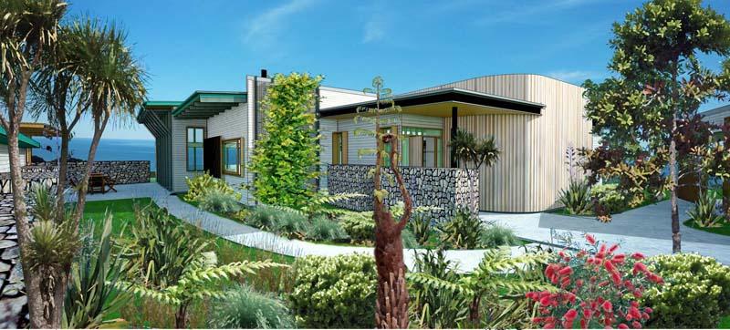 NEW ZEALAND NEW HOUSE
