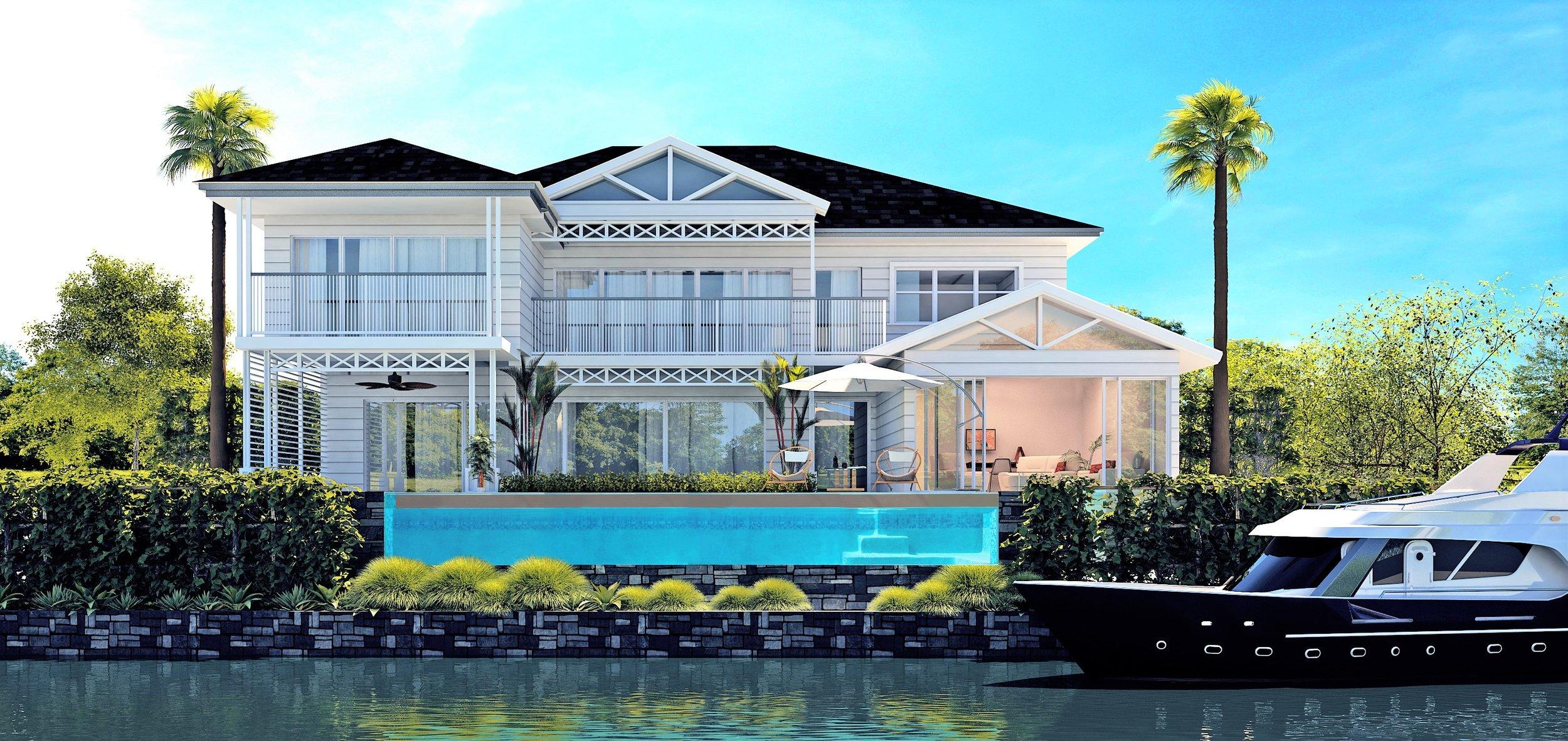 BRIBIE ISLAND HOUSE