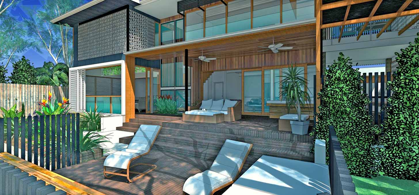 WOODY POINT HOUSE EXTENSION