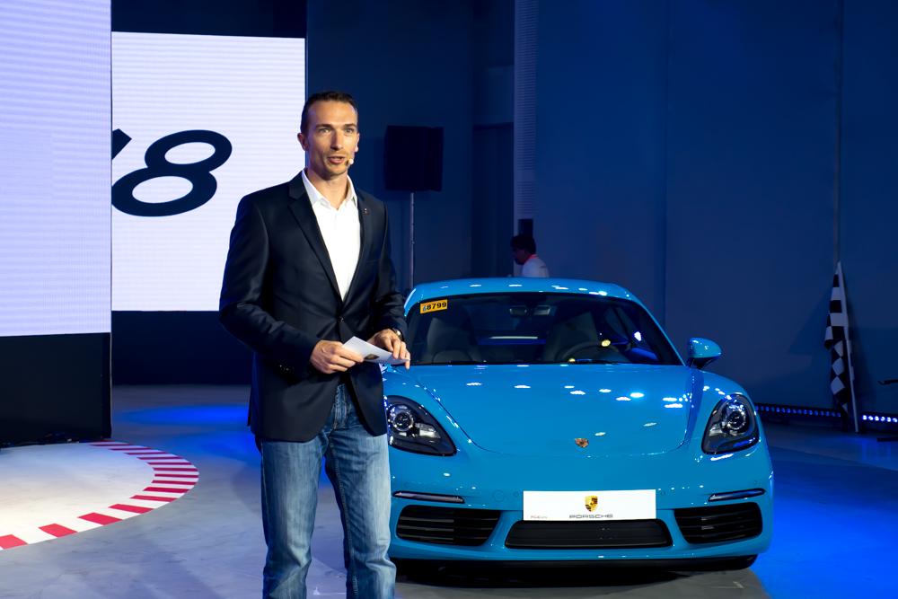 Martin Limpert - Porsche Asia Pacific, Managing Director