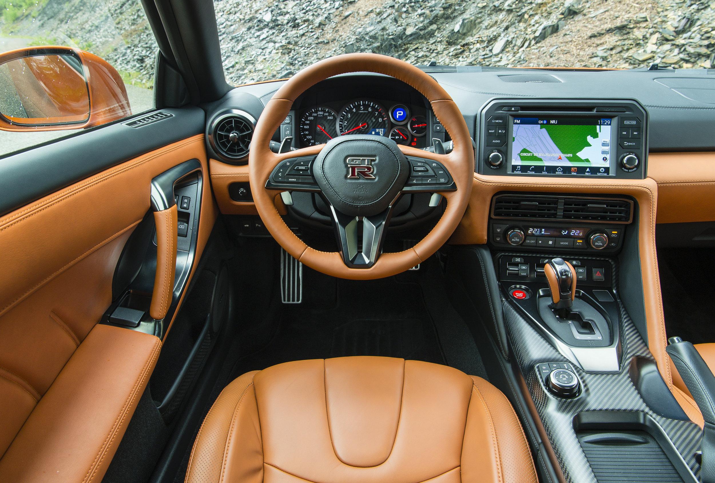 2017 Nissan GT-R Premium in Katsura Orange