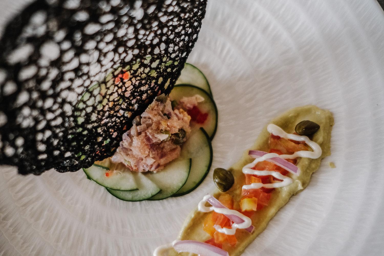 Tartare of salmon