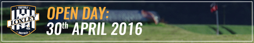 Sheffield footgolf open day on 30th april 2016