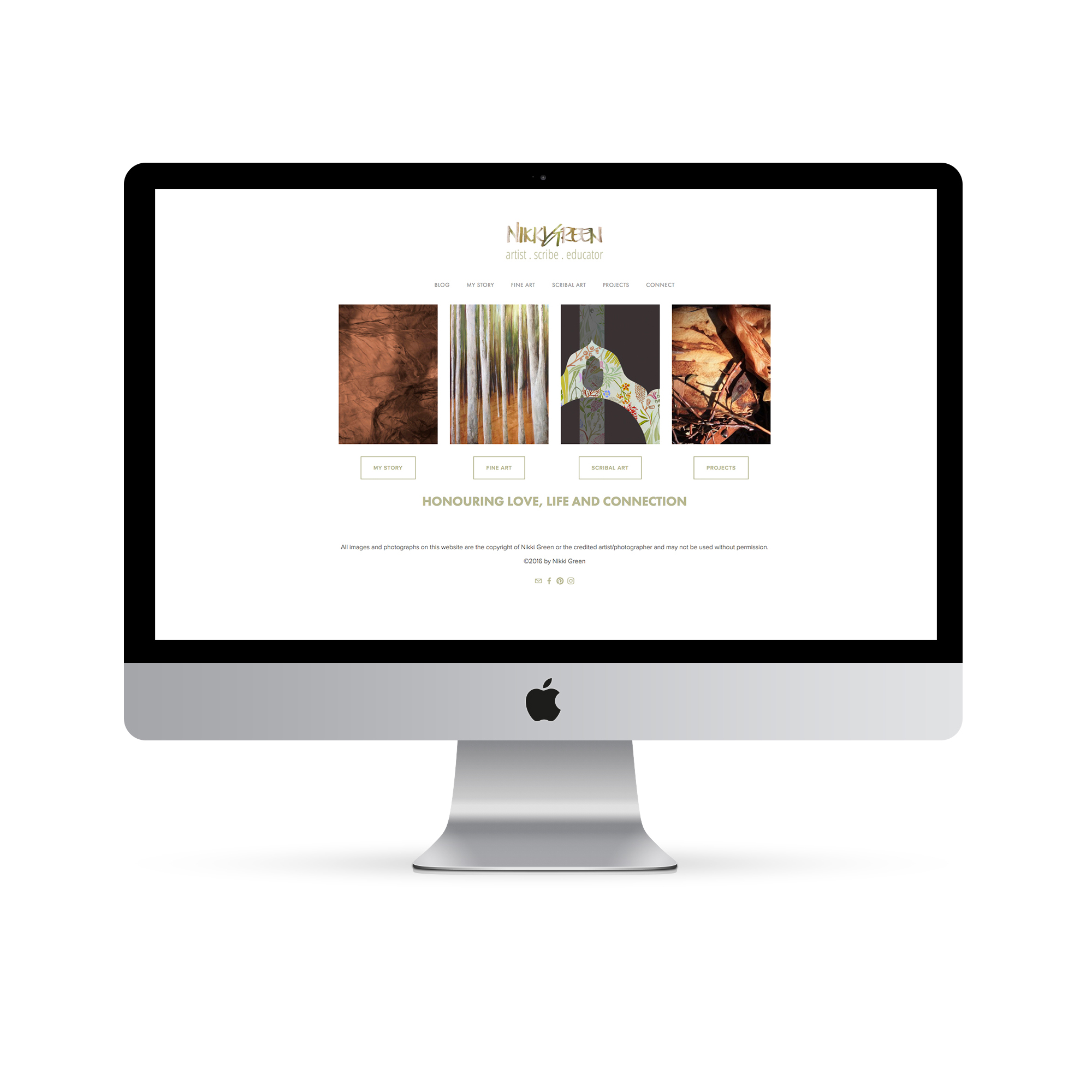 Squarespace Website Design in Perth