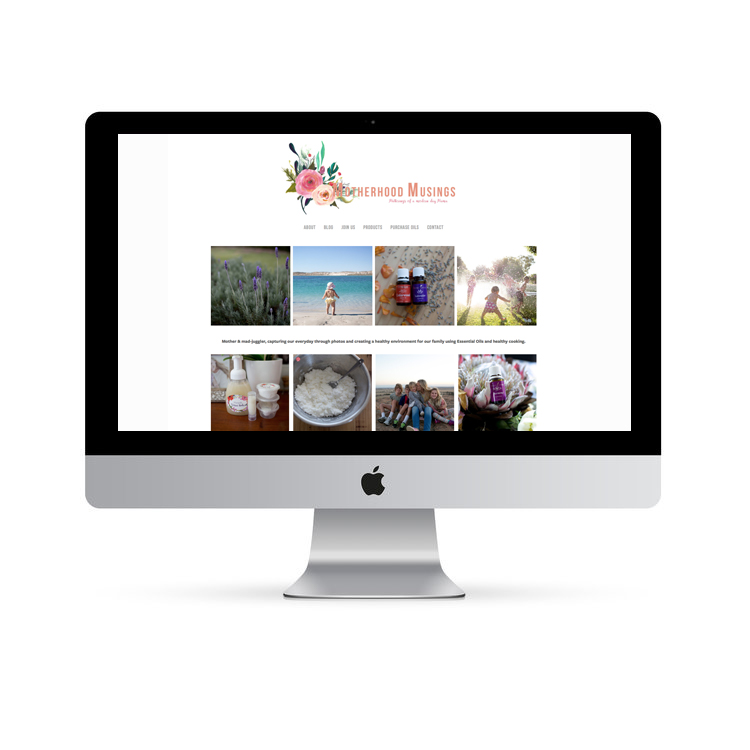 Essential Oil Website Design Perth