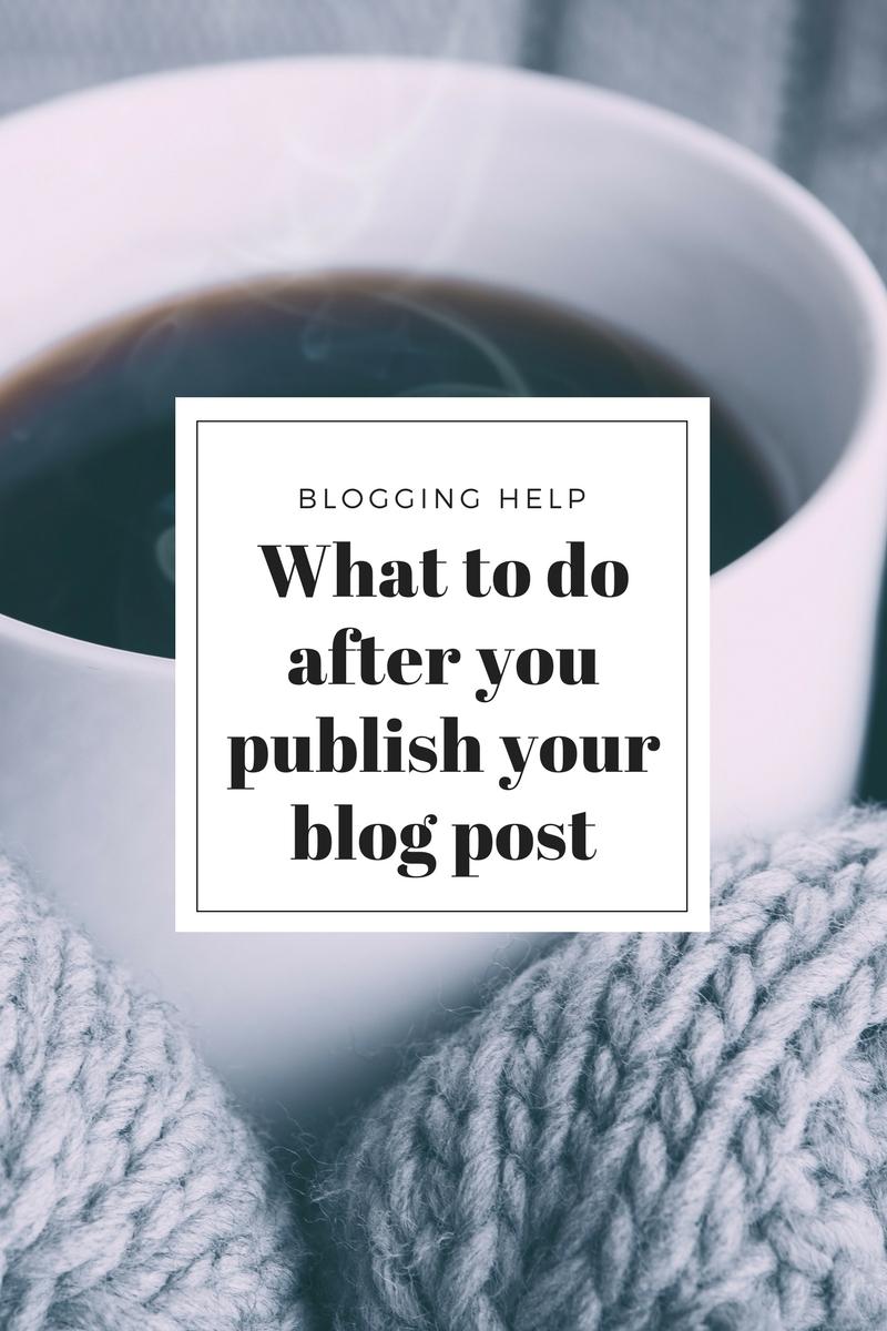 Blog post help on social media