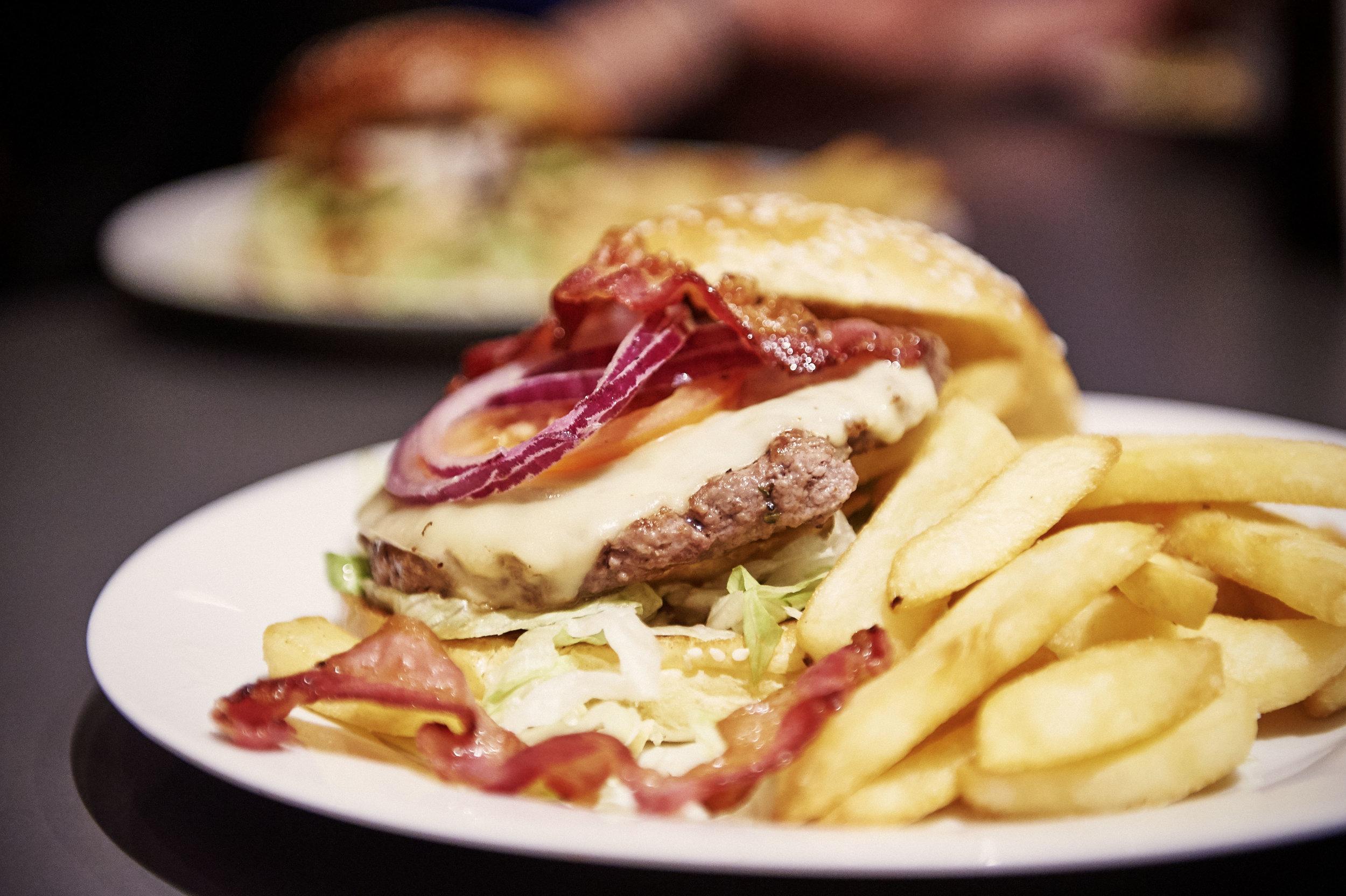 El Chanti Cheeseburger, Extra Bacon