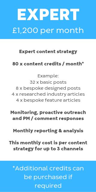Social media expert package