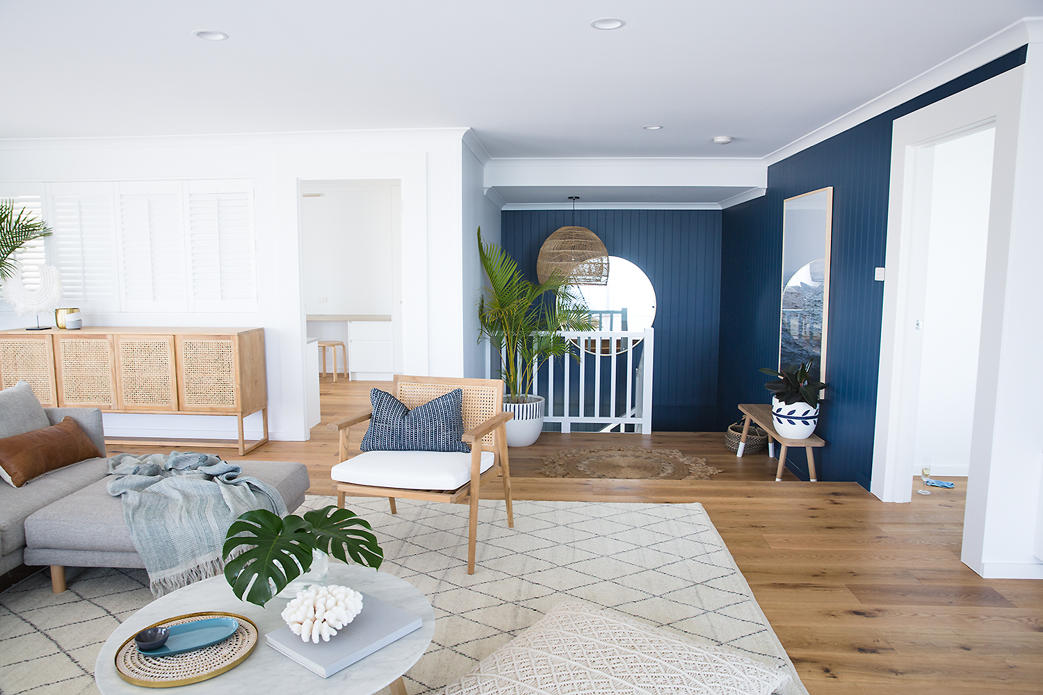 AFTER.Styling and design by Tess Beagley  Minted Interiors , Photography by  Carrie Young Photography