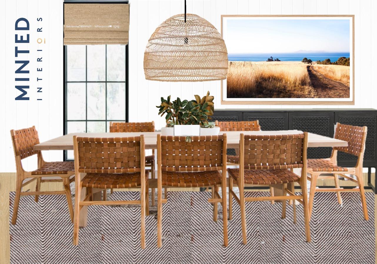 Minted Interiors Room Design Concept