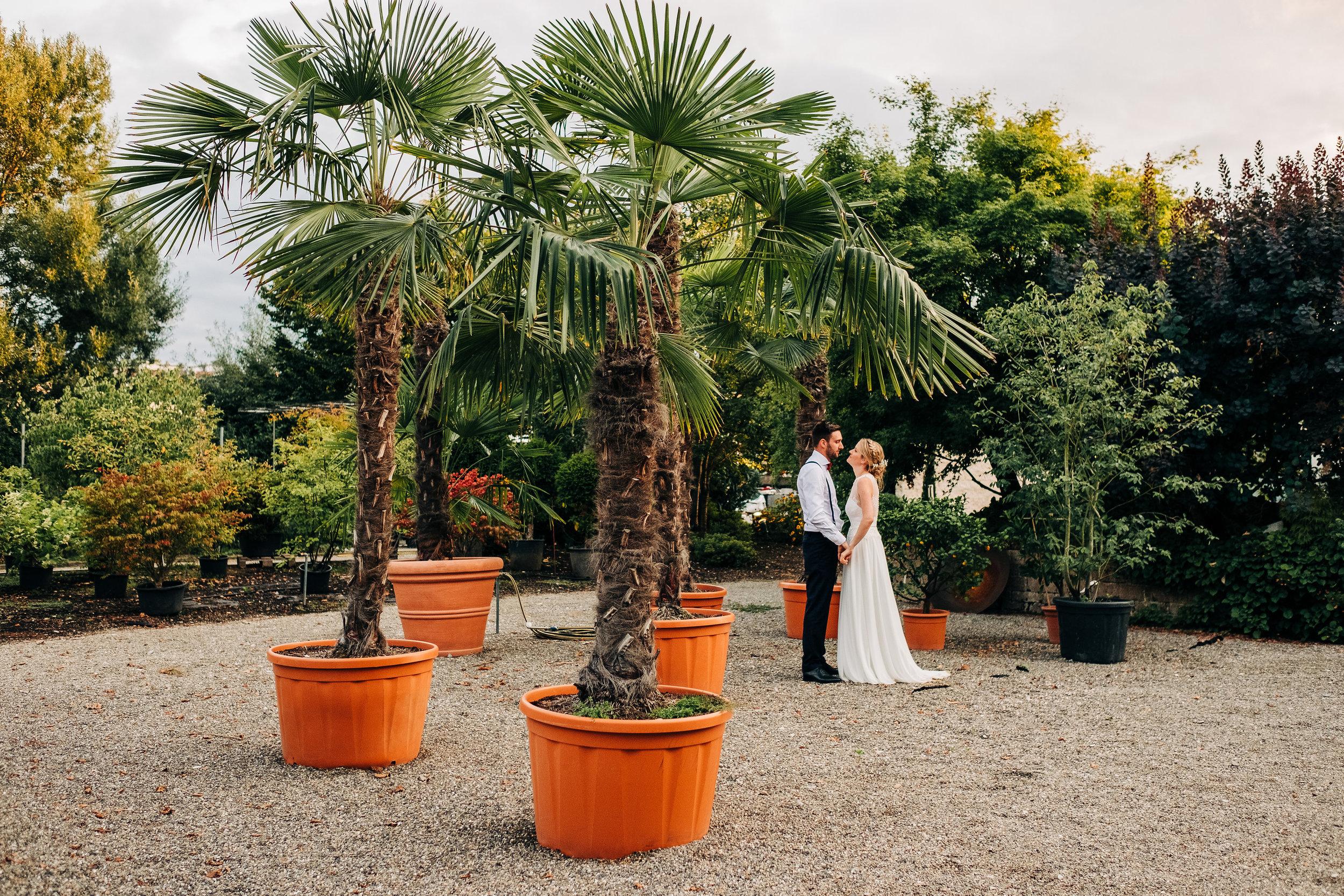 Hochzeit feiern im Plan-Garten