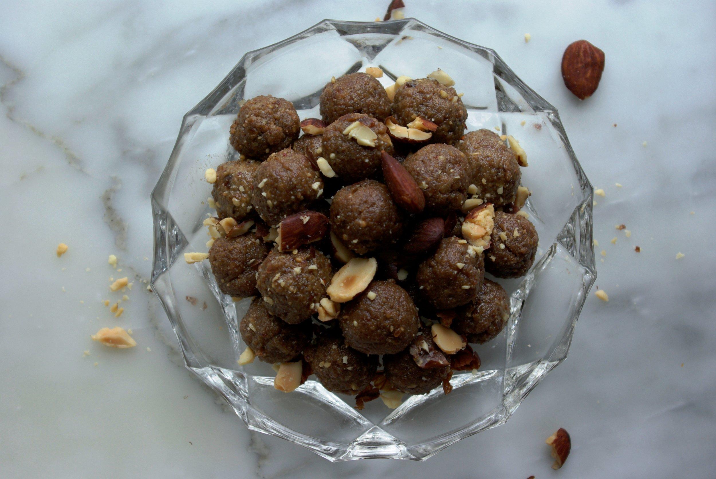 Almond Energy Balls Bites The Beauty of Simplicity by Salwa Petersen.jpg