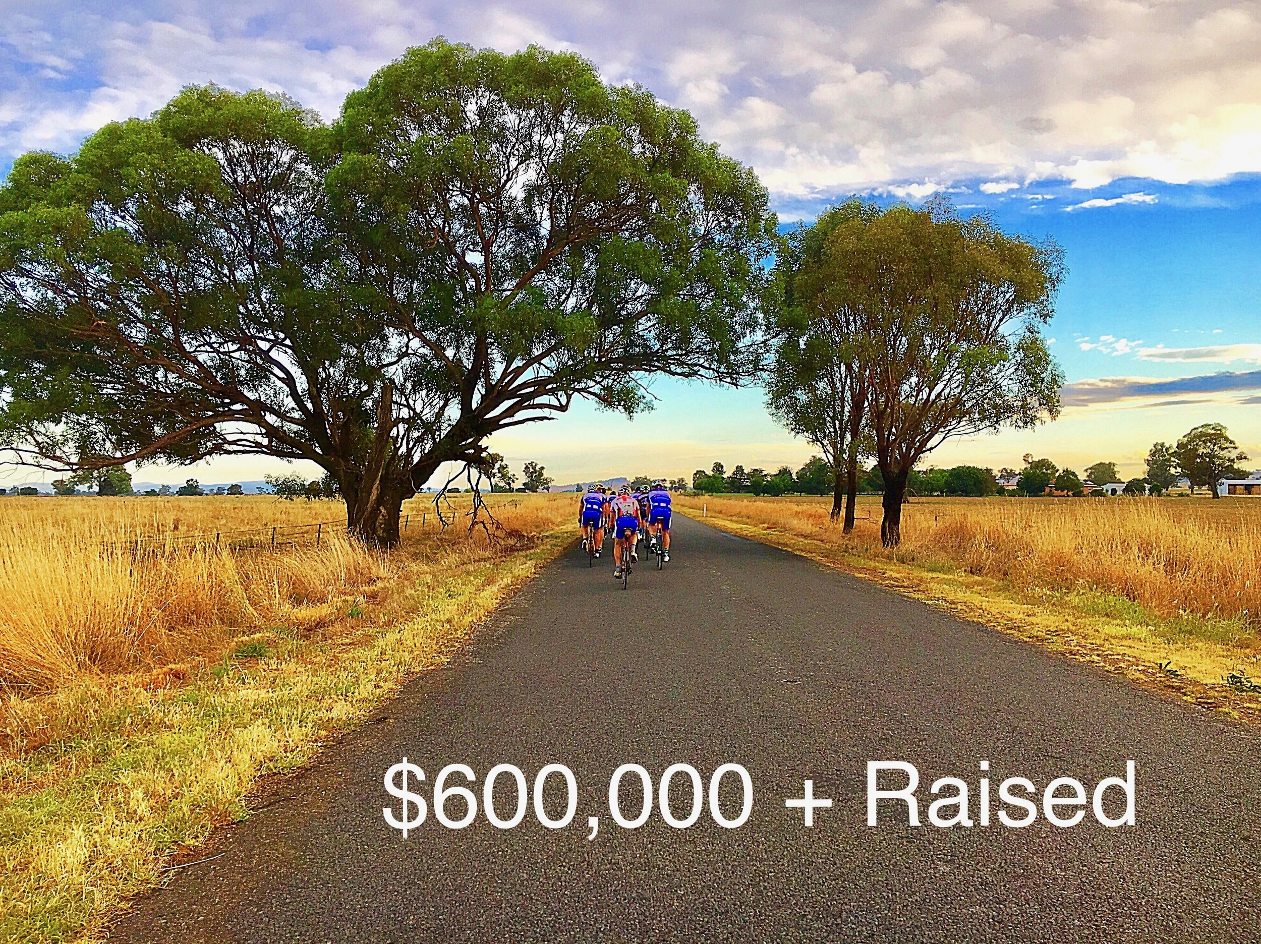 Royal Far West Ride for Country Kids on route to Orange.