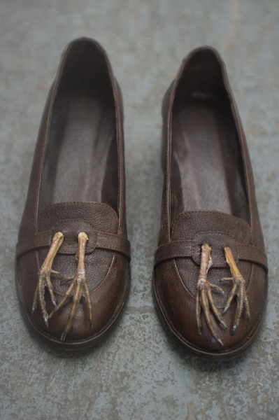 Loafer with Partridge Leg Tassels