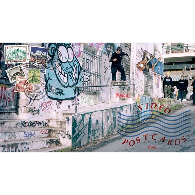 New Edit! Link in bio! We traveled, we filmed, we sent postcards. Athens with youngsters, budapest with oldies and some raw mixture st the end!