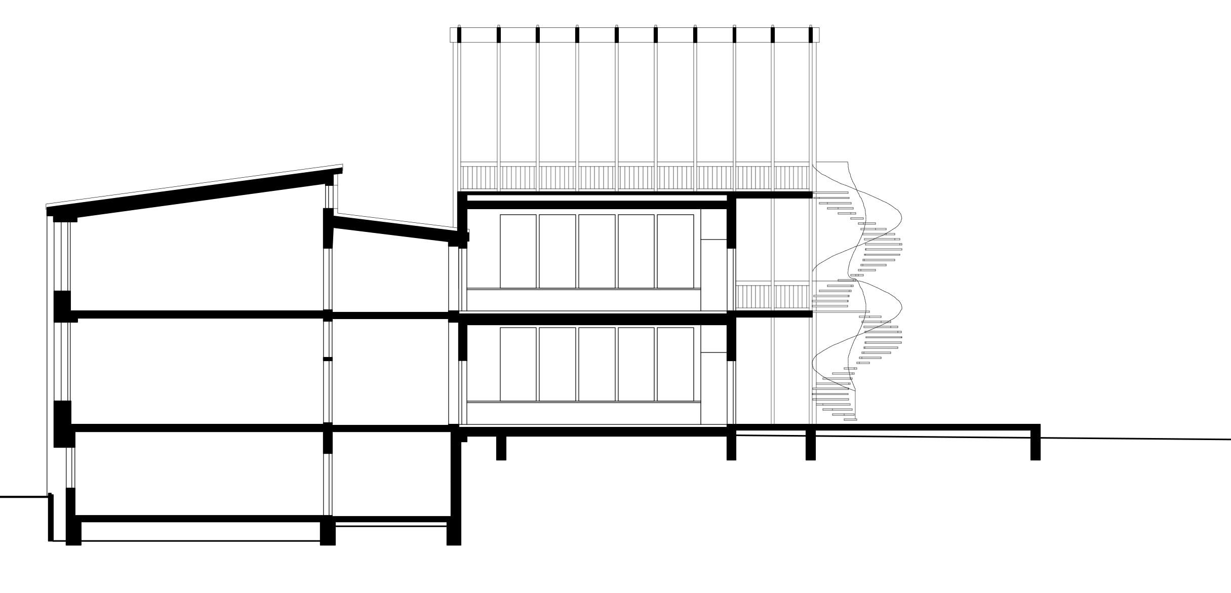 Die Dachterrasse könnte mit einer Rankbepflanzung begrünt werden.  Mehr