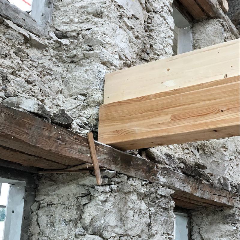 24. Okt 2018 -  Umbau Höckler  - Auflager
