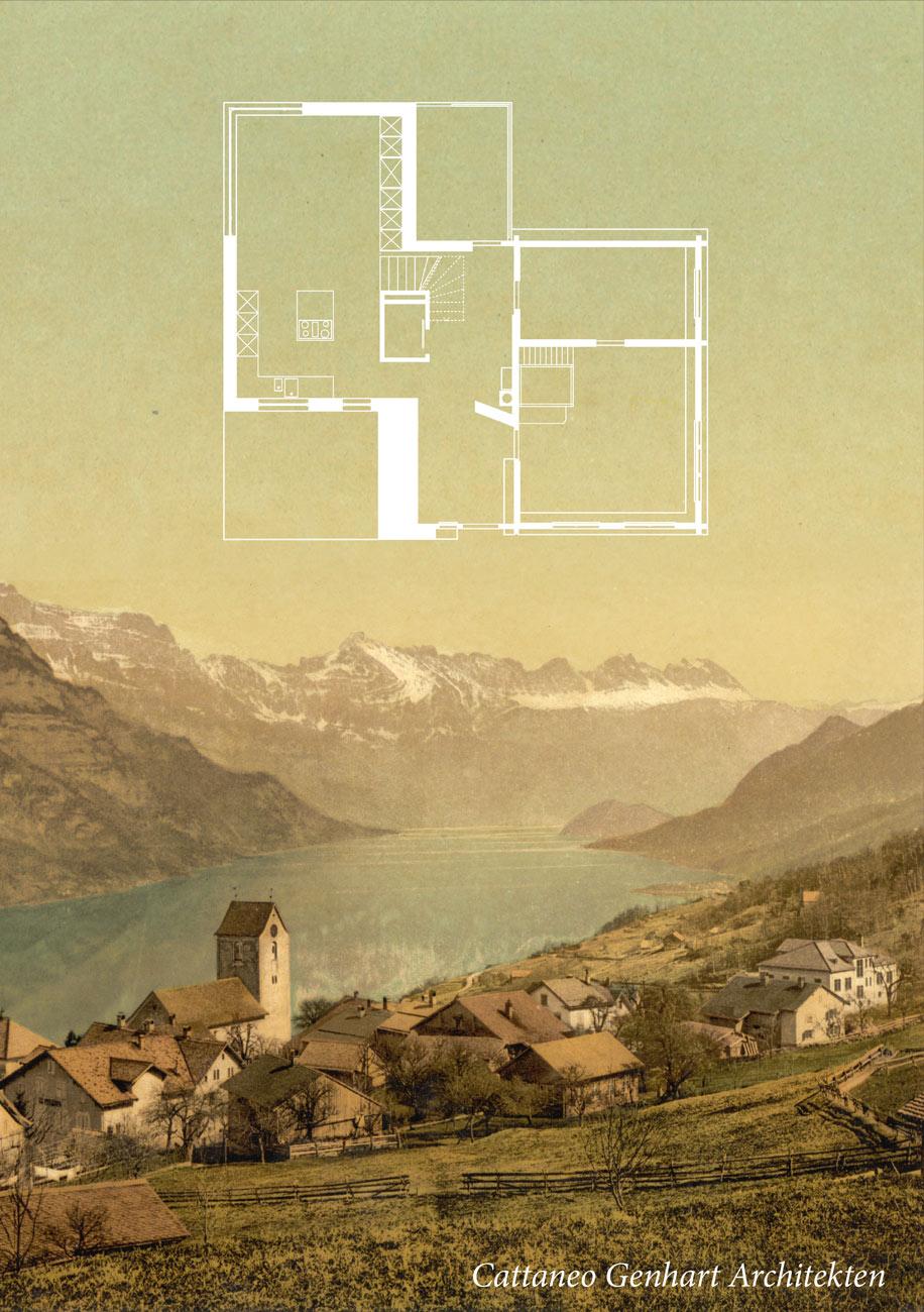 6. Mar 2015 -  Haus Schöfzig  - Baueingabe