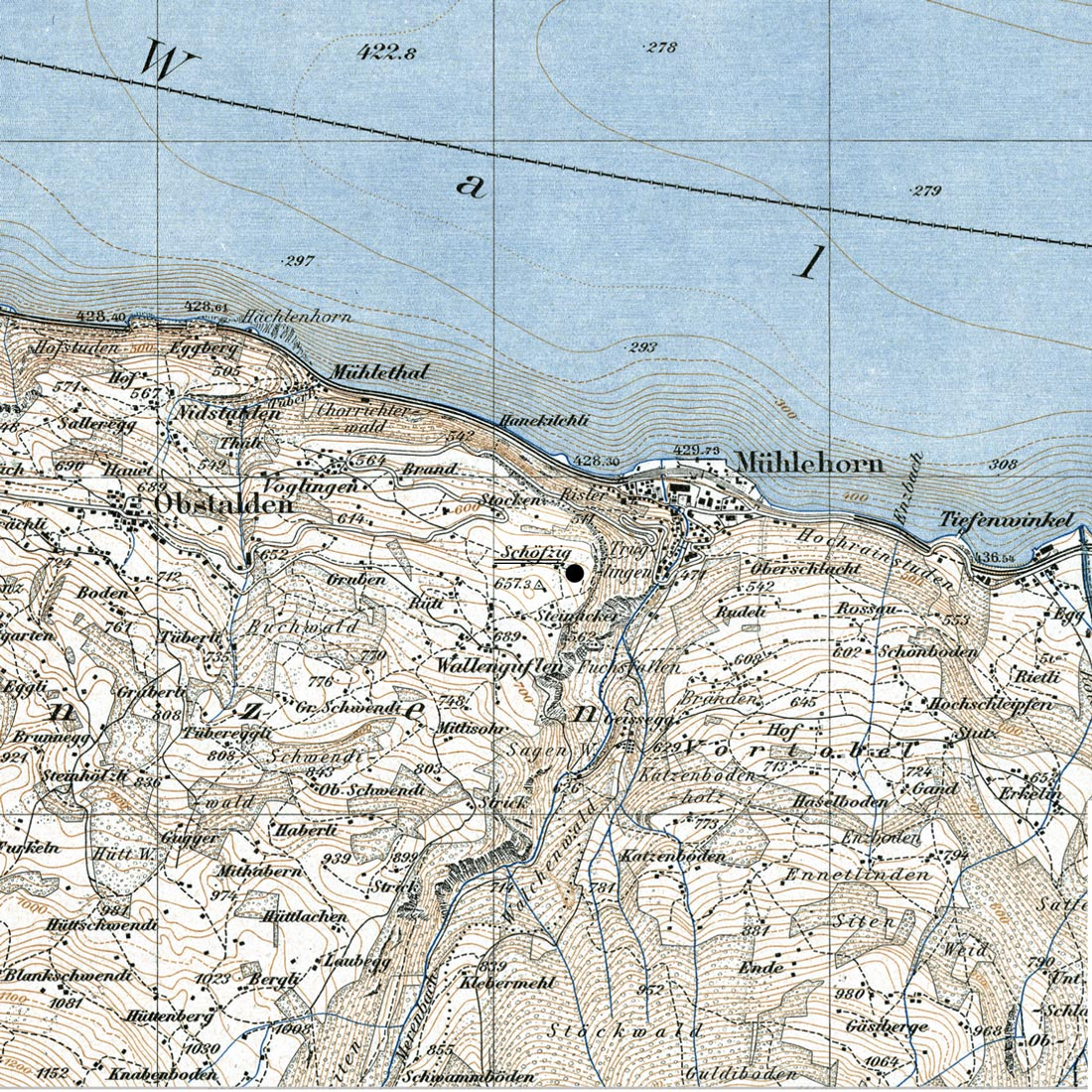 6. Jun 2014 -  Haus Schöfzig  - Historische Karte
