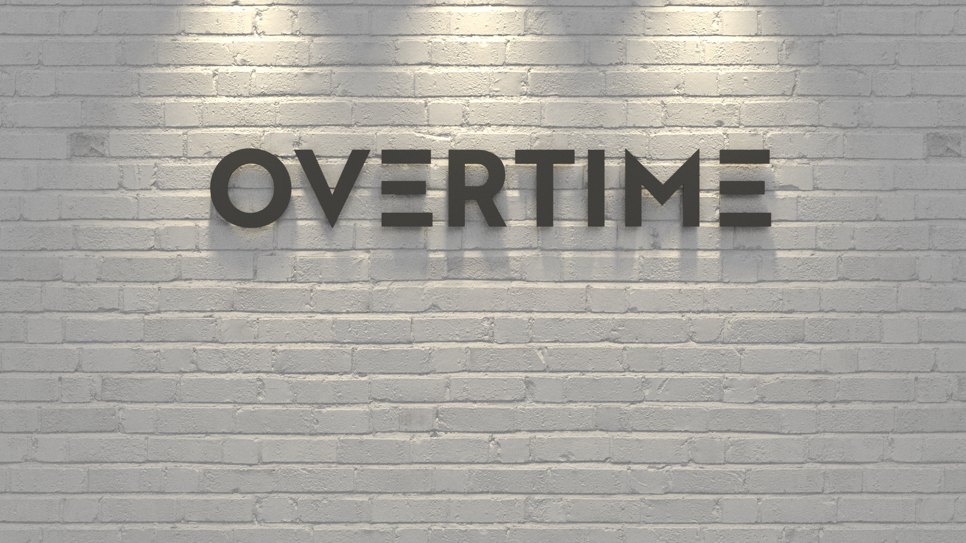 Overtime Background generated all in 3D