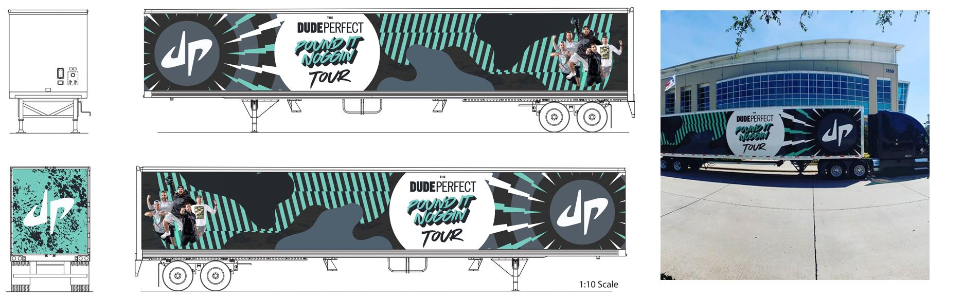DP Tour Bus Design Comps