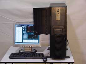 DAQ System Showing Strain Gage Signal Conditioner Inside Locked Case