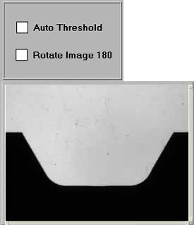 Figure 5a - Auto Threshold and Rotate Image 180 Unchecked