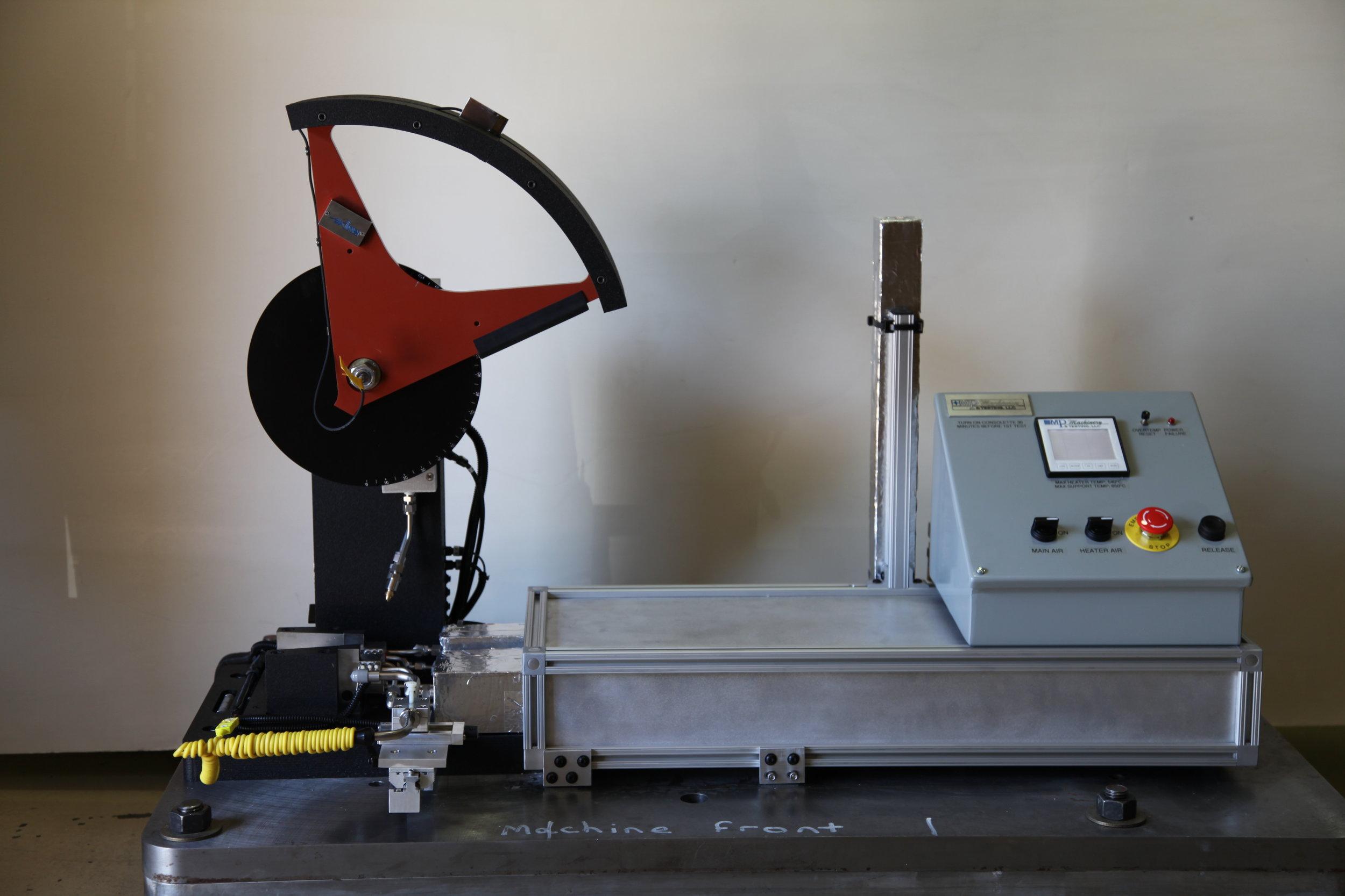 MPM In-Situ Heating & Cooling - Tabletop Machine Installation  (C-Hammer)