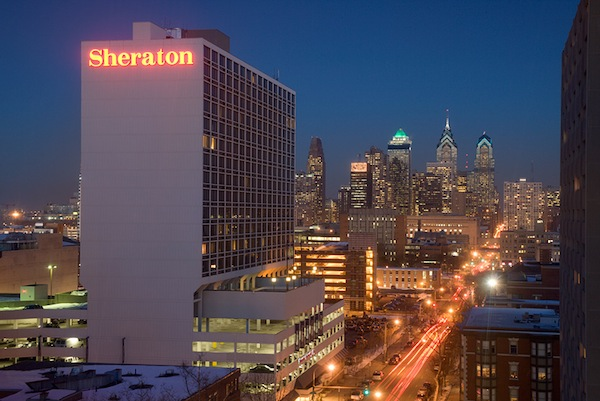Check in's begin October 14 at Sheraton University City - Philadelphia, PA