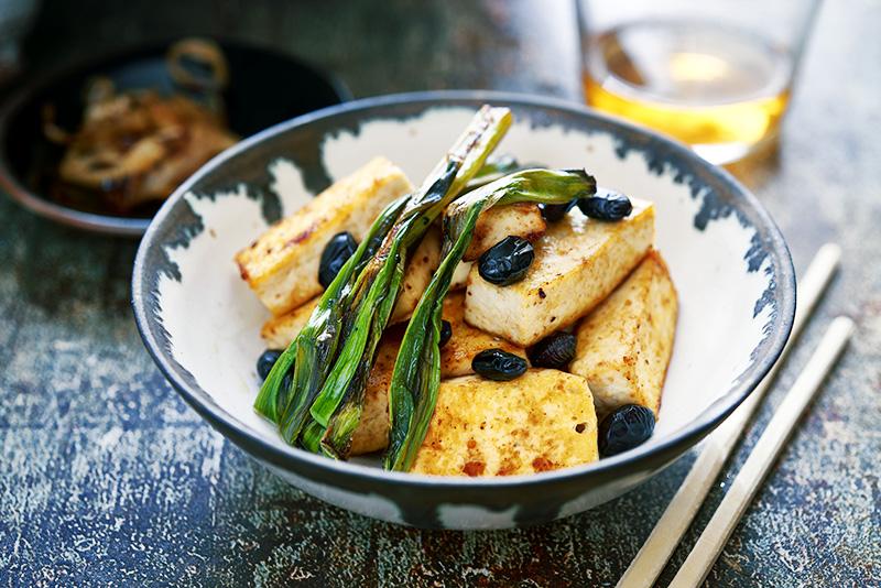 Tofu med bönor