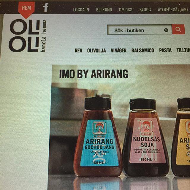 IMOs vän Olioli❤️🎈 Den bästa webbutiken för de som vill det absolut godaste och noggrant utvalt sortiment! OLIOLI VAR ANNARS! www.olioli.se #imoälskarmia #imokitchen #olioli #mathem #fredagsmys