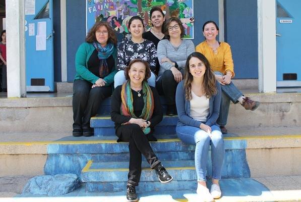 Profesoras responsables de apoyar a nuestros alumnos y alumnas